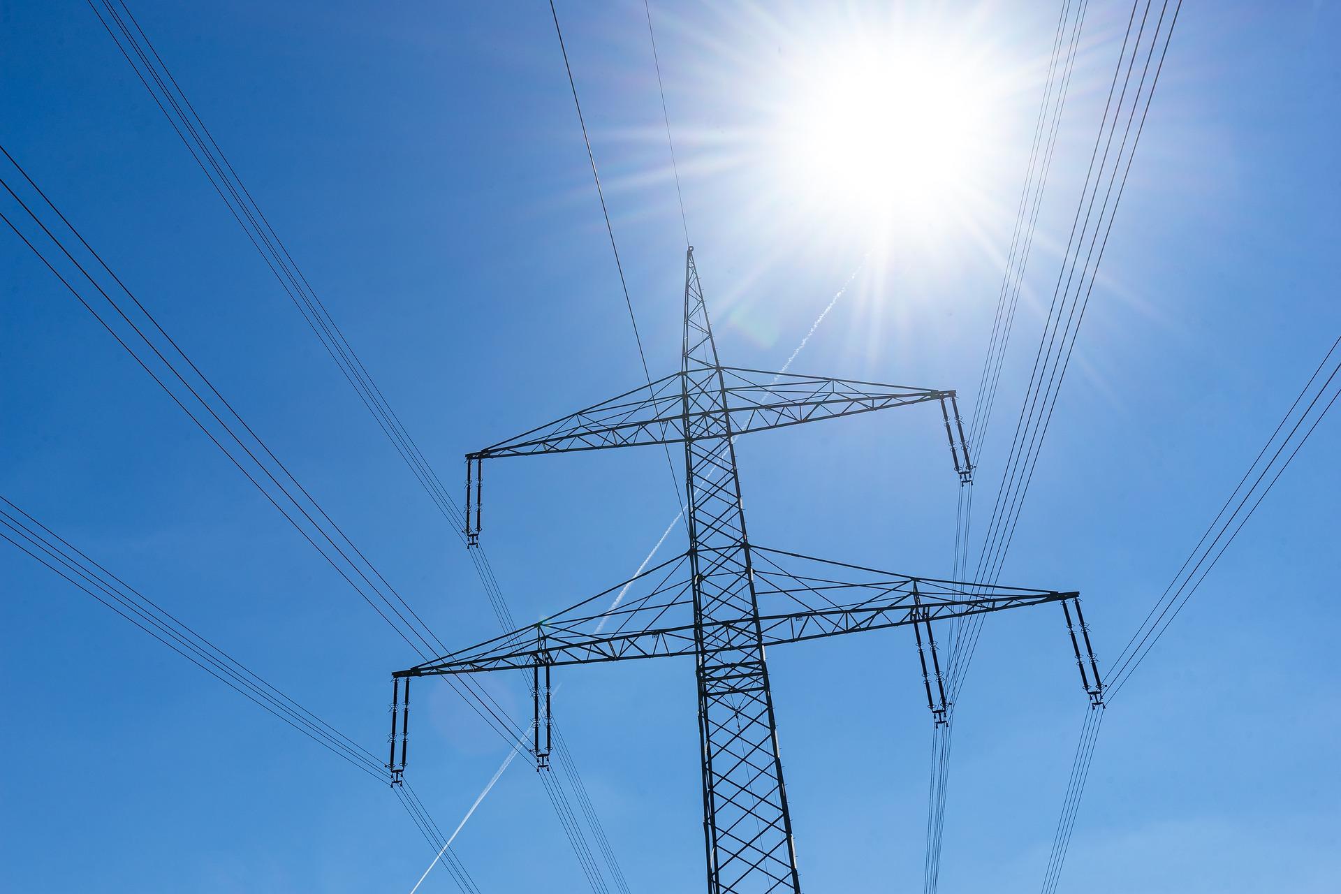 Utility Company Power Lines