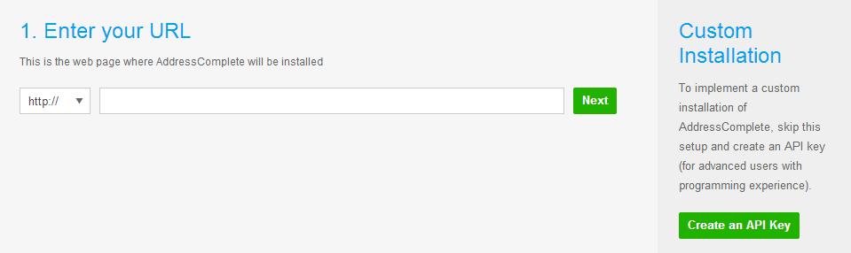 Enter your URL