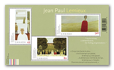 Art Canada: Jean Paul Lemieux | Canada Post