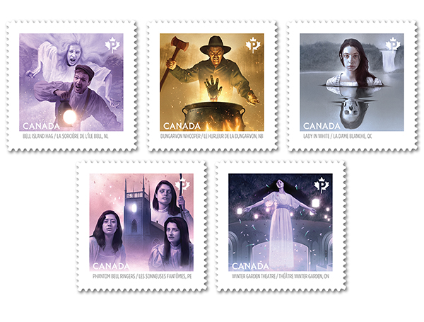 Haunted Canada Stamps Return With More Spine Tingling Tales