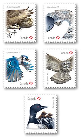 Birds Of Canada Canada Post