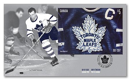 brand new 0f69c 1d35f Toronto Maple Leafs 100th Anniversary | Canada Post
