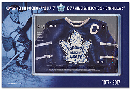 brand new 4c223 fea1d Toronto Maple Leafs 100th Anniversary   Canada Post