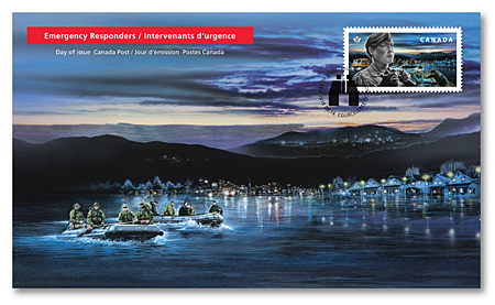 Official First Day Covers - Canadian Armed Forces