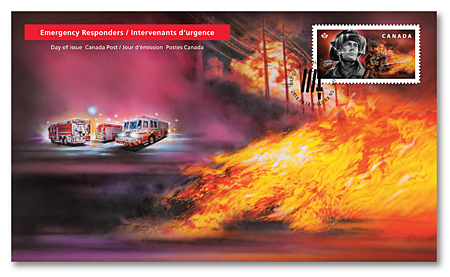 Official First Day Covers - Firefighters