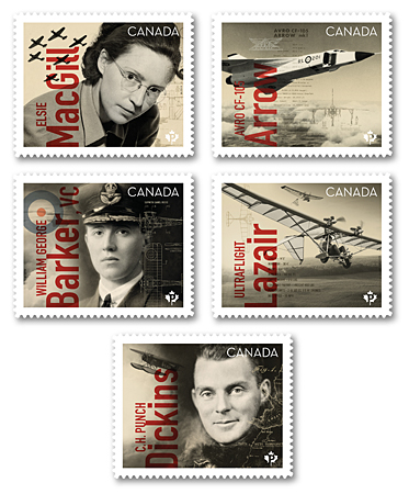 Canadians in Flight | Canada Post