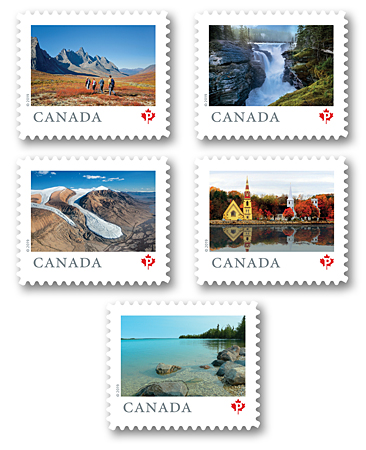 how many postage stamps to canada