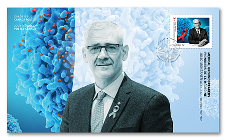 Official First Day Covers - Medical Groundbreakers - Julio Montaner