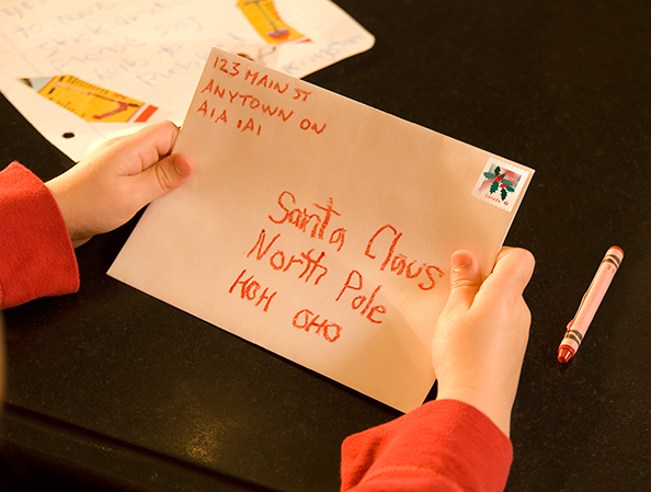 create magic this christmas write to santa canada post