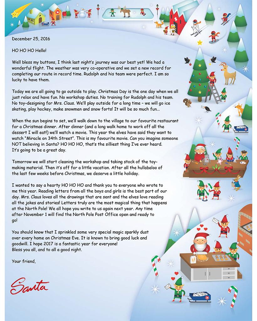 santa closing letter