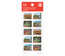 UNESCO - Booklet of 10 domestic stamps