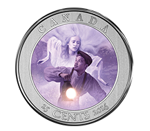 2016 Haunted Canada Coin & Stamp Set