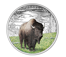 $20 Pure Silver Coin - The Benevolent Bison