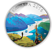 2016 $20 Pure Silver Coin - Canadian Landscapes Series