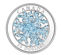 $20 Pure Silver Coin - Snowflake
