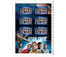 Star Trek™ - Uncut Press Sheet