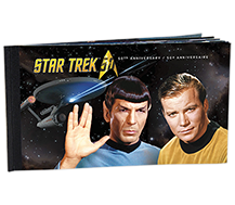 Star Trek : Jeu de 8 plis de collection