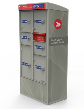Parcels locker