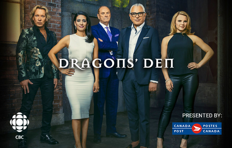 Canada Post is a proud partner of Dragons' Den