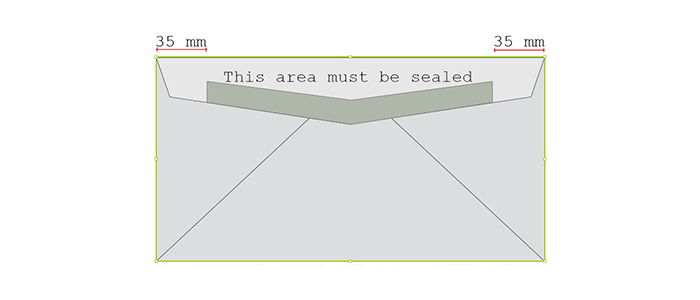 Sealing requirements for envelopes