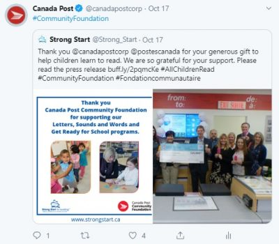 In Manitowaning in northern Ontario, the Township of Assiginack was awarded $2,000 to offer a sewing and quilting program to children.