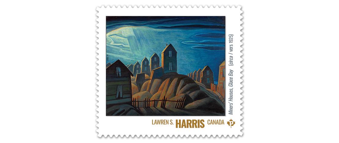 Miners' Houses, Glace Bay (circa 1925), Lawren S. Harris