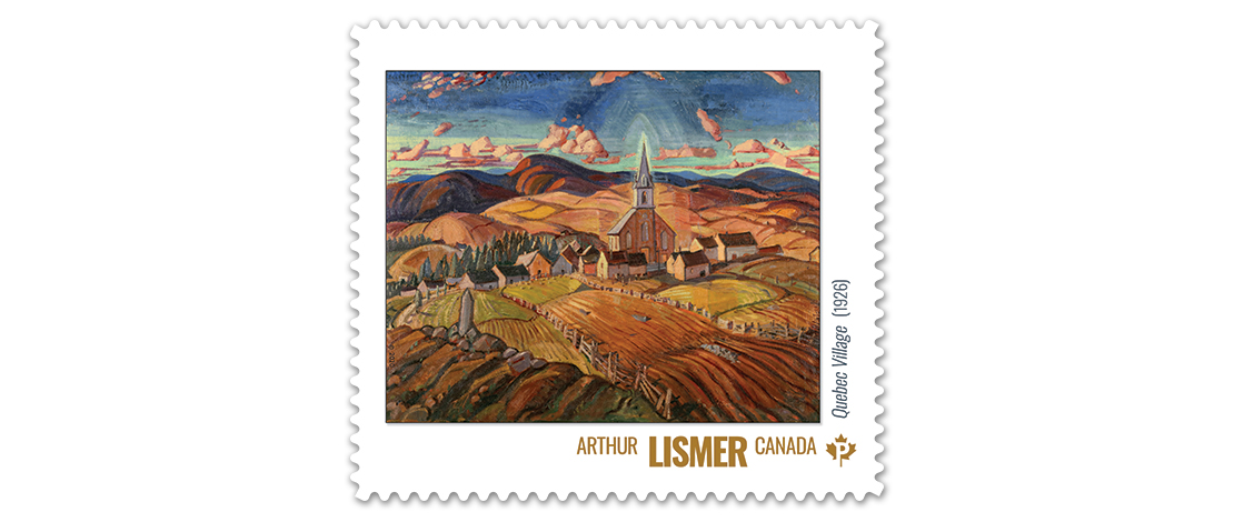 Quebec Village (1926), Arthur Lismer