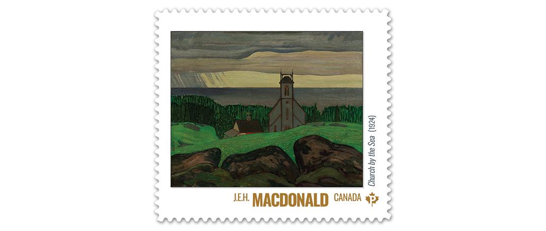 Church by the Sea (1924), J.E.H. MacDonald