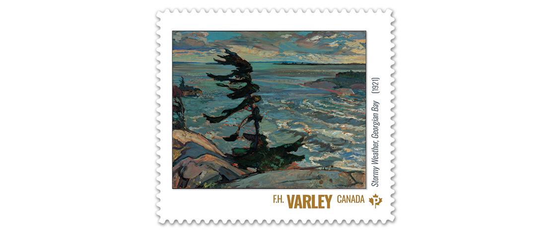 Stormy Weather, Georgian Bay (1921), F.H. Varley