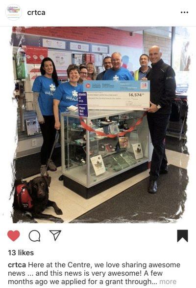 À Kamloops, le Chris Rose Therapy Centre for Autism a reçu 6 574 $ afin d'acheter des ordinateurs pour son programme destiné aux autistes.