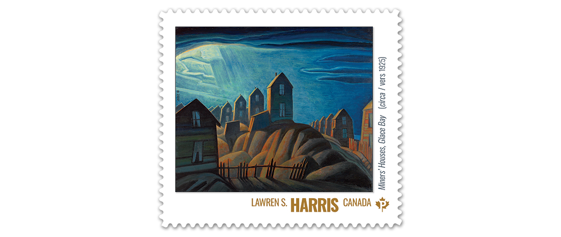 Miners' Houses, Glace Bay (vers 1925), Lawren S. Harris