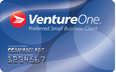 Canada Post Solutions for Small Business card and a VentureOne card.