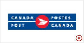 Canada Post logo in low resolution