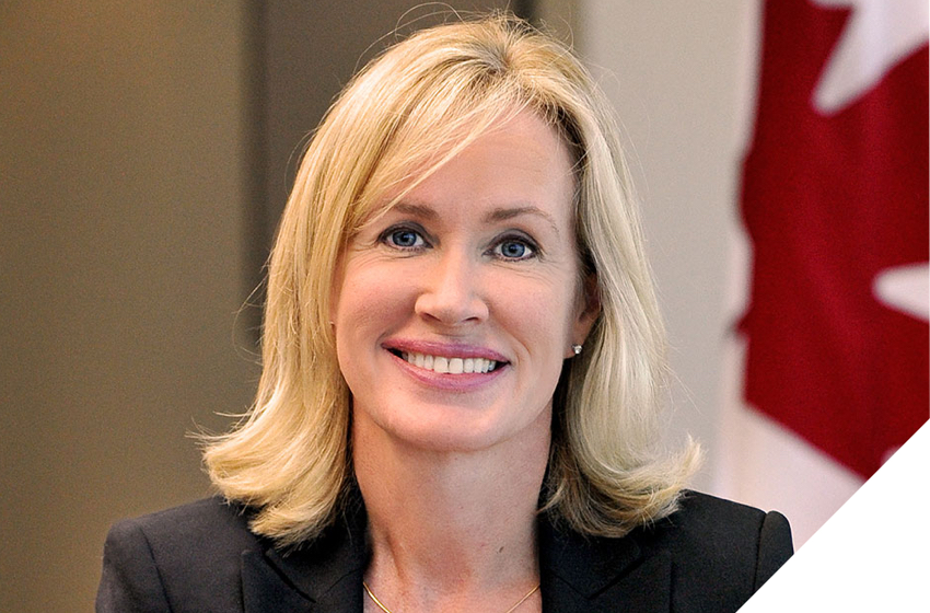 Jessica L. McDonald, Chair of the Board of Directors of Canada Post.