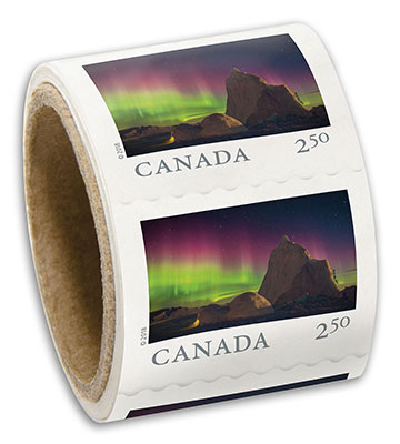 Mailing and shipping for personal and business canada post international stamps coil of 50 reheart Choice Image