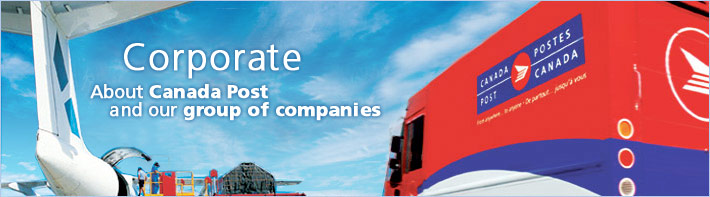 Corporate About Canada Post and our group of companies