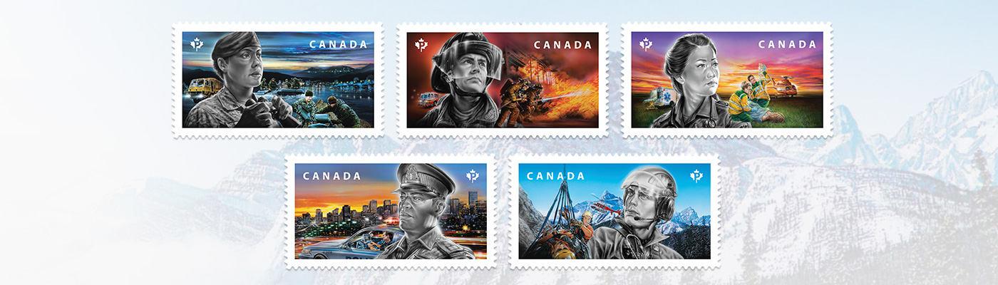 Emergency Responders | 2018 stamps by collection | Stamps by