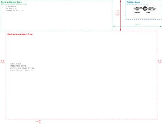 "... Envelope Details - Oversize - No Window - 254 mm x 330 mm (10"" x 13"