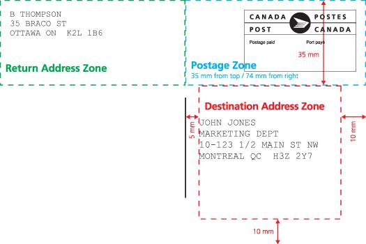 how do you address a letter sample envelope