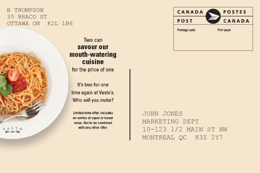Canada Post - Machineable Mail Advisor - Card Details - Postcard ...