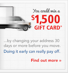 You could win a $1,000 Gift Card