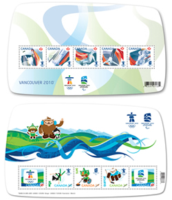 Vancouver 2010 Winter Games stamps