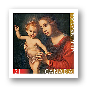 Christmas Madonna and Child