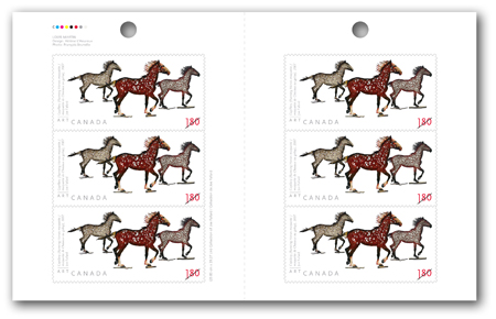 Booklet of 6 stamps