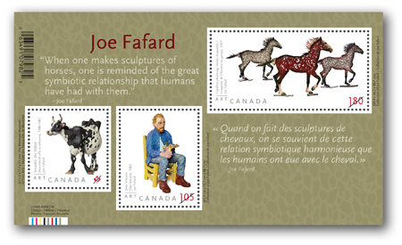 Souvenir sheet of 3 stamps