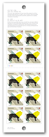 Leo - Booklet of 10 stamps