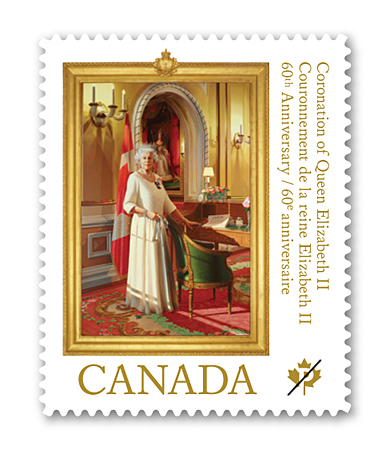 Canada: Queen Elizabeth II: 60th Anniversary of Her Majesty's Coronation - www.canadapost.ca