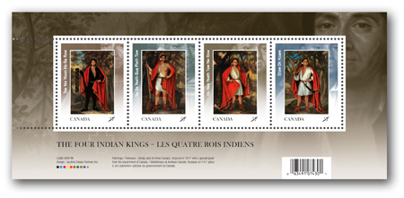 Souvenir sheet of 4 stamps