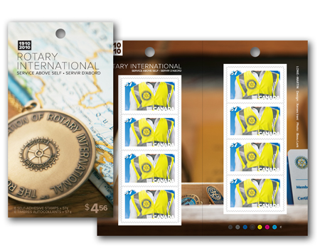 Booklet of 8 stamps