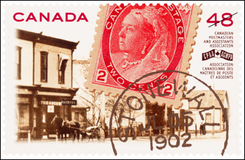 Canadian Postmasters and Assistants Association, 1902-2002